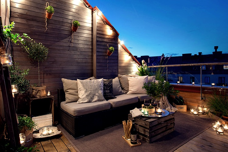 Real estate fincas sur ideas para decorar nuestro atico - Como decorar una terraza grande ...